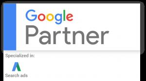 google partner logo google ads management